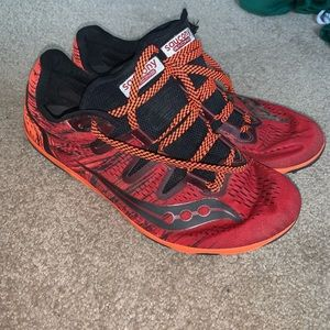 Saucony cross country track distance spikes